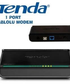 Tenda D810R ADSL Modem Router with 1-Port Switch